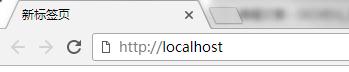 """在浏览器地址栏输入""""local"""""""